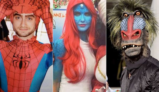 Celebrities Celebrate Comic-Con in Disguise